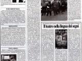 Articolo di giornale, potenza, teatro stabile